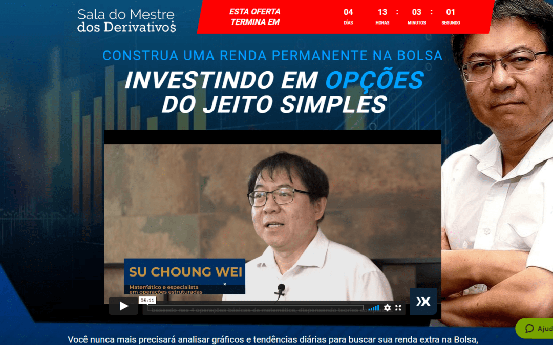 Nova Turma – Sala Mestre dos Derivativos